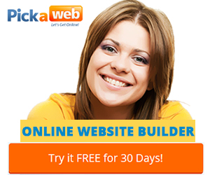 Setup a website in 15 min with our online website builder