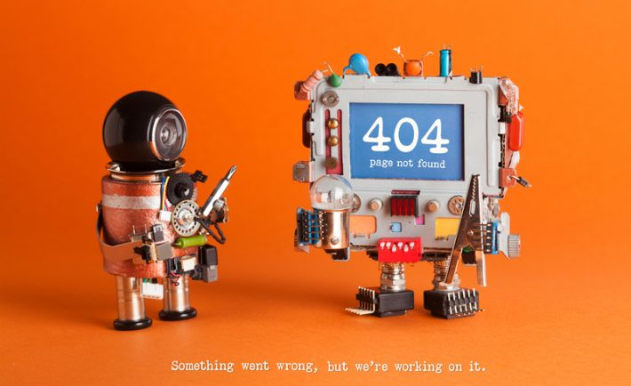 404 error redirect and recommendations